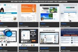 Social Web Platform Comparison Made Easy